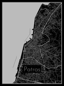 Map of Patras