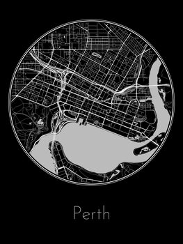 Map of Perth
