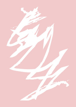 Illustration Pink storm
