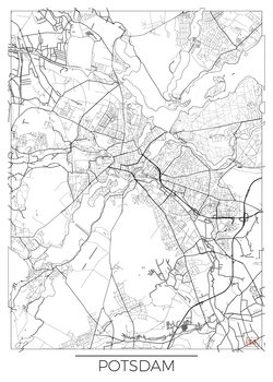 Map of Potsdam