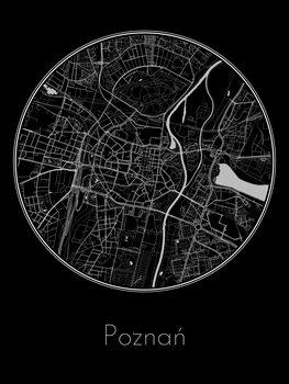 Map of Poznań