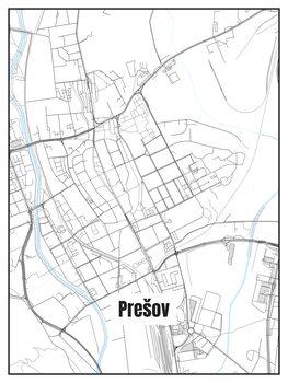 Map of Prešov