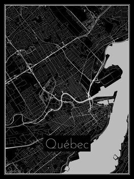 Map of Québec