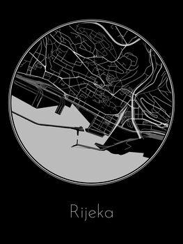Map of Rijeka