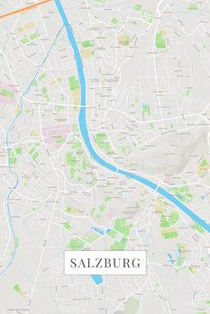 Map Salzburg color