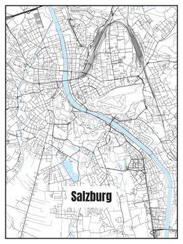 Map of Salzburg