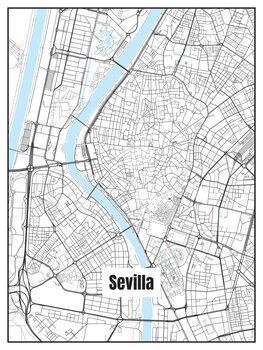 Map of Sevilla