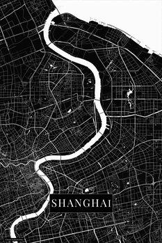 Map of Shanghai black