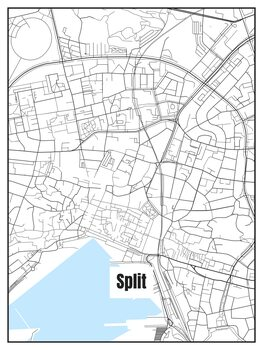 Map of Split