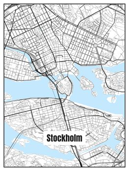Map of Stockholm