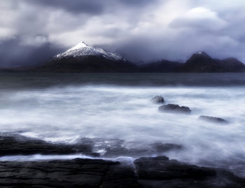 Art Print on Demand Stormy Elgol