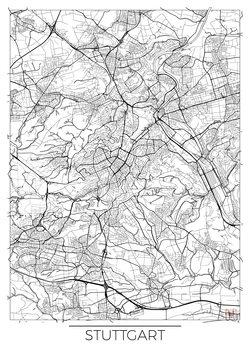 Map of Stuttgard