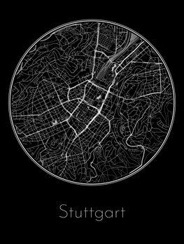 Map of Stuttgart