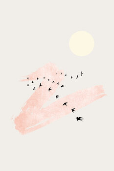 Illustration Sun and Heaven