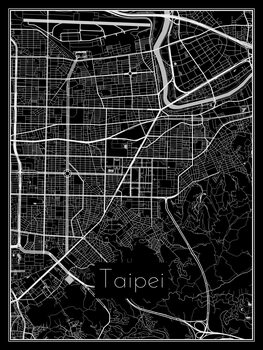 Map of Taipei
