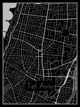 Map of Tel Aviv