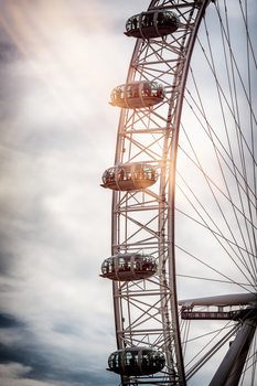 Art Print on Demand The London Eye