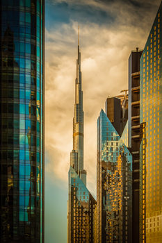 Art Print on Demand The Mighty Burj