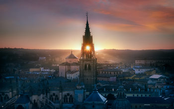 Art Print on Demand Toledo City - One Moment In Time