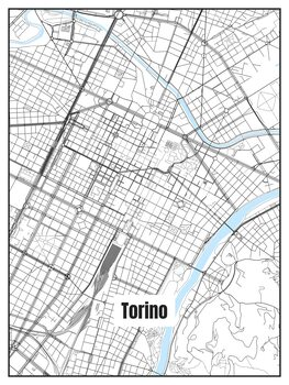 Map of Torino
