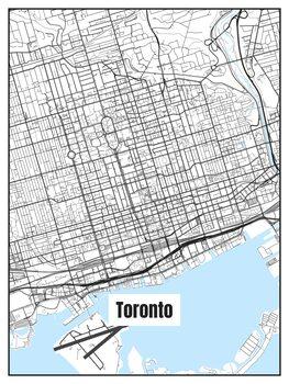 Map of Toronto