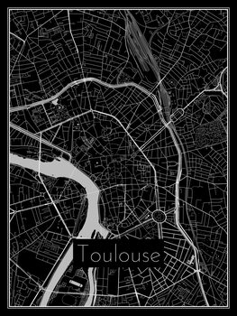 Map of Toulouse