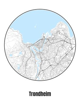 Map of Trondheim