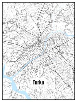 Map of Turku