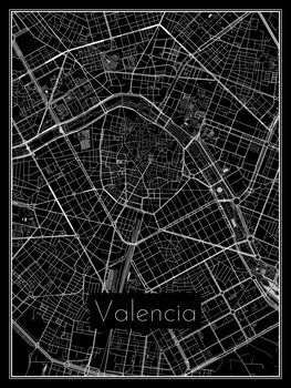 Map of Valencia