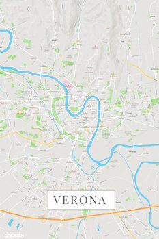 Map of Verona color