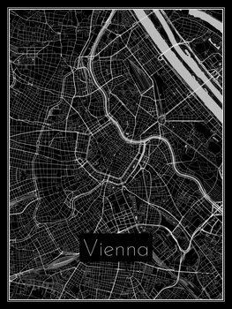 Map of Vienna