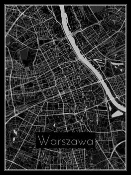 Map of Warszawa
