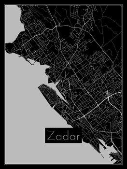 Map of Zadar