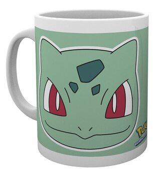 Mug Pokemon - Bulbasaur Face