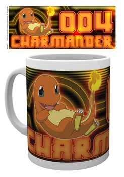 Caneca Pokemon - Charmander Glow