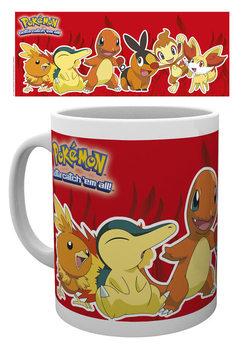 Caneca Pokémon - Fire Partners