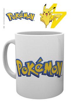 Caneca Pokemon - Logo And Pikachu