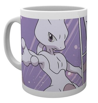 Mug Pokemon - Mewtwo Comic Panels