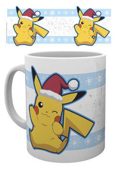 Mug Pokemon - Pikachu Santa