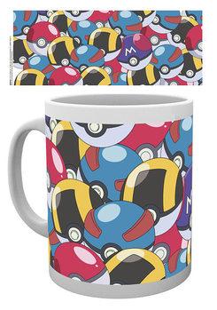 Mug Pokemon - Pokeballs