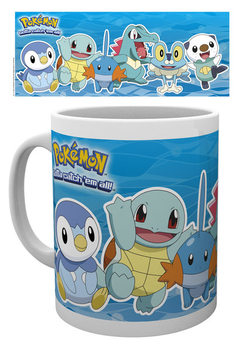 Caneca Pokémon - Water Partners