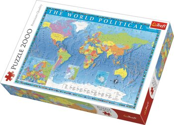 Palapeli Political Map of the World