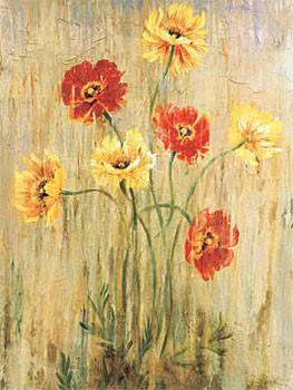 Poppy Serenade Reproduction d'art