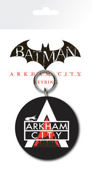 Porta-chaves Batman Arkham City - Logo