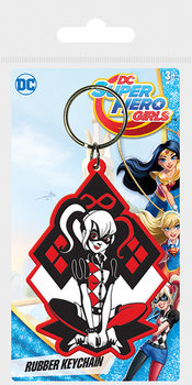 Porta-chaves  DC Super Hero Girls - Harley Quinn