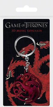 Porta-chaves Game Of Thrones - Targaryen Sigil