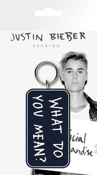 Porta-chaves Justin Bieber - What Do You Mean