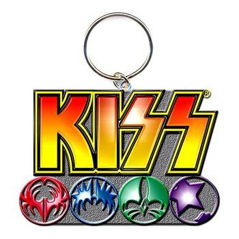 Porta-chaves Kiss - Logo & Icons