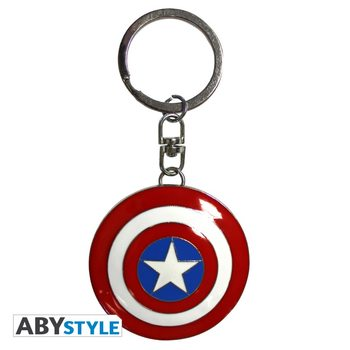 Porta-chaves Marvel - Shield Captain America