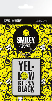 Porta-chaves Smiley - Yellow is the New Black